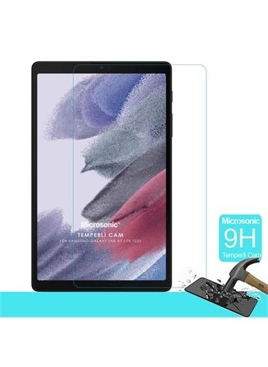 Microsonic Samsung Galaxy Tab A7 Lite T225 Tempered Glass Cam Ekran Koruyucu Renksiz